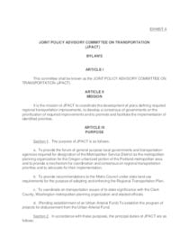 JPACT bylaws