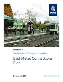 Appendix P - East Metro Connections Plan