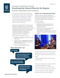 Regional Leadership Forum 4 summary and recommendations