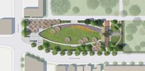 Lone Fir memorial park site design