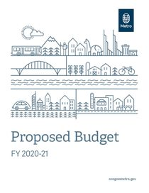 FY 2020-21 proposed budget