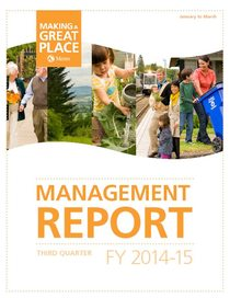 2014-15 quarter 3 management report