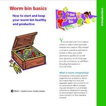 Worm bin basics