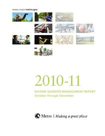 2010-11 quarter 2 management report