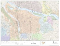 Jurisdictional boundaries: Multnomah County