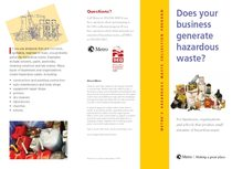 Conditionally Exempt Generator brochure