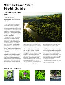 Oxbow Field Guide