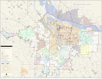 2011: Map of dump sites cleaned up by Metro