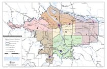 Metro Council Districts 11x17