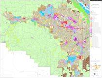 Generalized zoning map: Washington