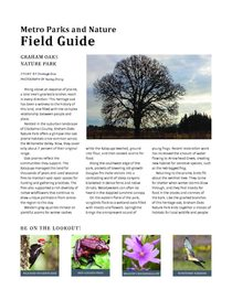 Graham Oaks Field Guide