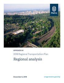 Appendix M - Regional analysis