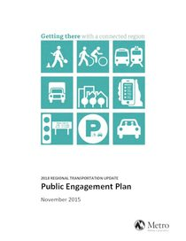 Public engagement plan