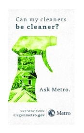 Green Cleaning magnet