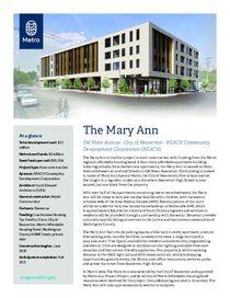 The Mary Ann