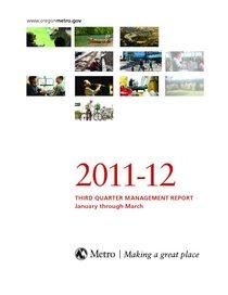 2011-12 quarter 3 management report