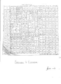 Gresham Pioneer and Escobar cemeteries map