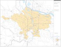 Aluminum OREGON  City Limit Sign GRANTS PASS