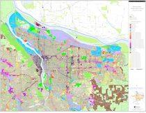 Generalized zoning map: Multnomah