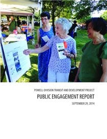 Public engagement report for September 2014