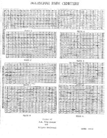 Multnomah Park Cemetery map
