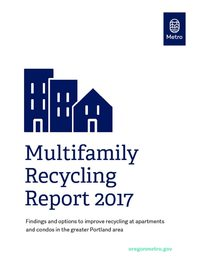 Multifamily Recycling Report 2017