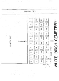 White Birch Cemetery map
