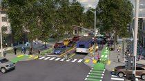 Community street rendering