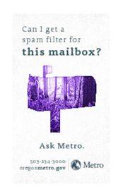 Junk Mail magnet