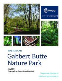 Gabbert Butte Nature Park master plan final draft