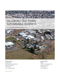 Old Town Hillsboro action plan