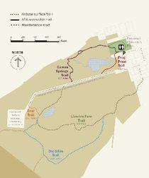 Canemah Bluff trails