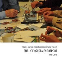 Public engagement report for June 2015