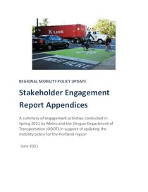 Appendices - Stakeholder Engagement Report - Spring 2021