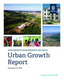 2018 Urban Growth Report