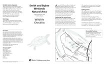 Smith and Bybee wildlife checklist and map