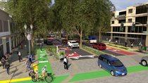 Regional boulevard rendering