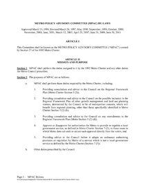MPAC bylaws