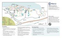 Blue Lake Regional Park map