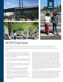 2021-24 MTIP Executive Summary