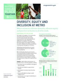 Diversity, Equity and Inclusion Program fact sheet