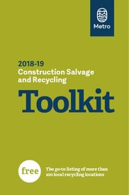 2018-19 Construction Salvage and Recycling Toolkit