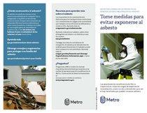 Tome medidas para evitar exponerse al asbesto