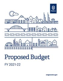 FY 2021-22 proposed budget