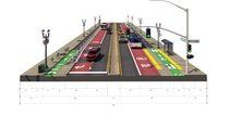 Regional boulevard cross section 2