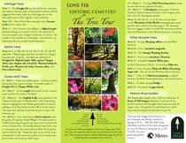 Lone Fir Cemetery tree tour