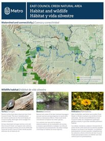East Council Creek Natural Area context and habitat