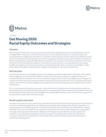 Get Moving 2020 Racial Equity Outcomes and Strategies