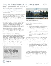 Future South environmental fact sheet