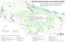 Protecting and restoring land: Potential target areas